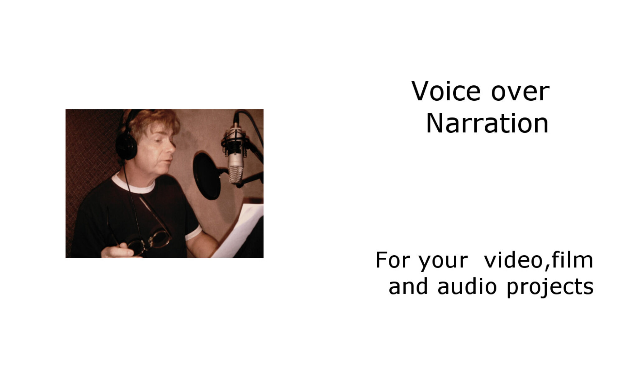 Voice track Talent